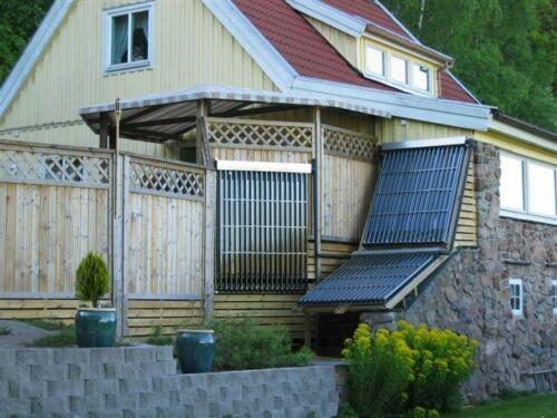 BlueClean Solaranlage komplett 20m²