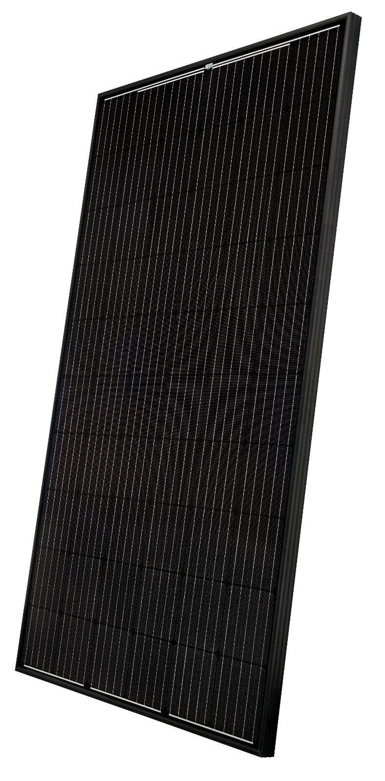 Solarpanel Black Seitlich