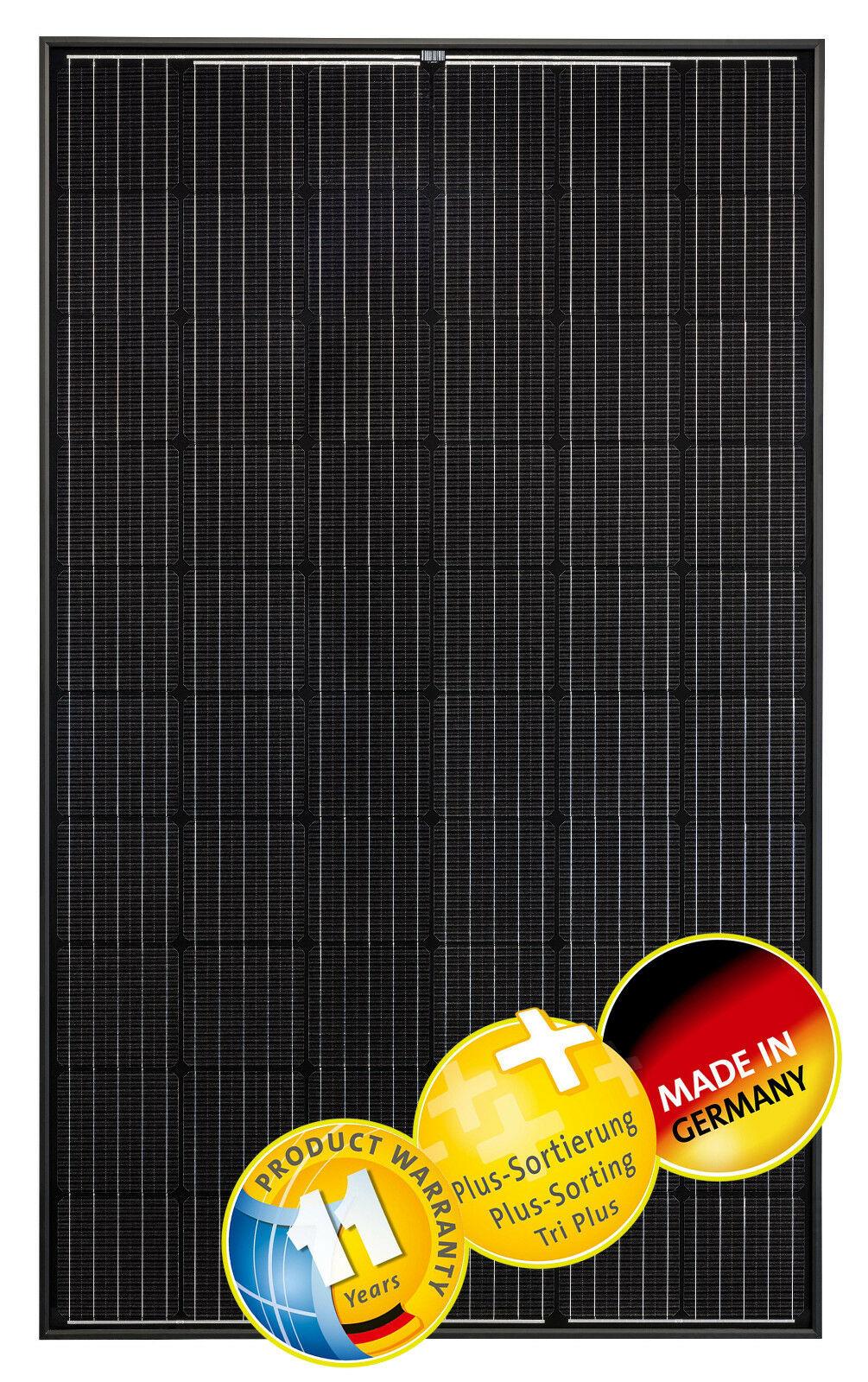 320W SOLARPANEL SOLARMODUL BLACK/SCHWARZ PHOTOVOLTAIK MODUL SOLARZELLE