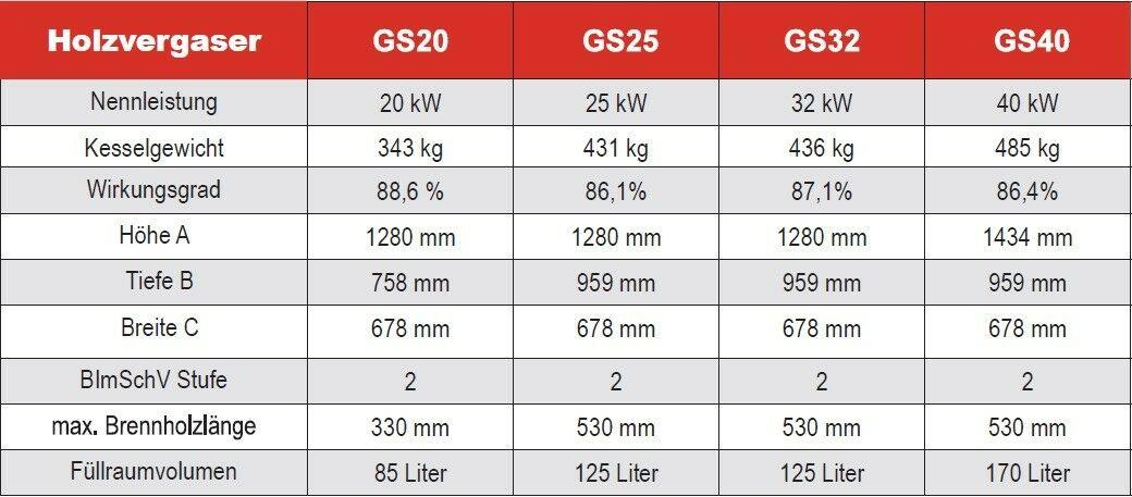 Holzvergaser GS 40