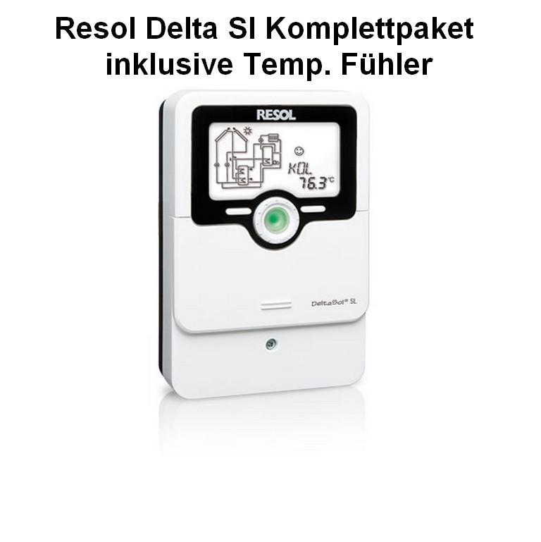 Solarregler SL 4x PT 1000 FÜHLER
