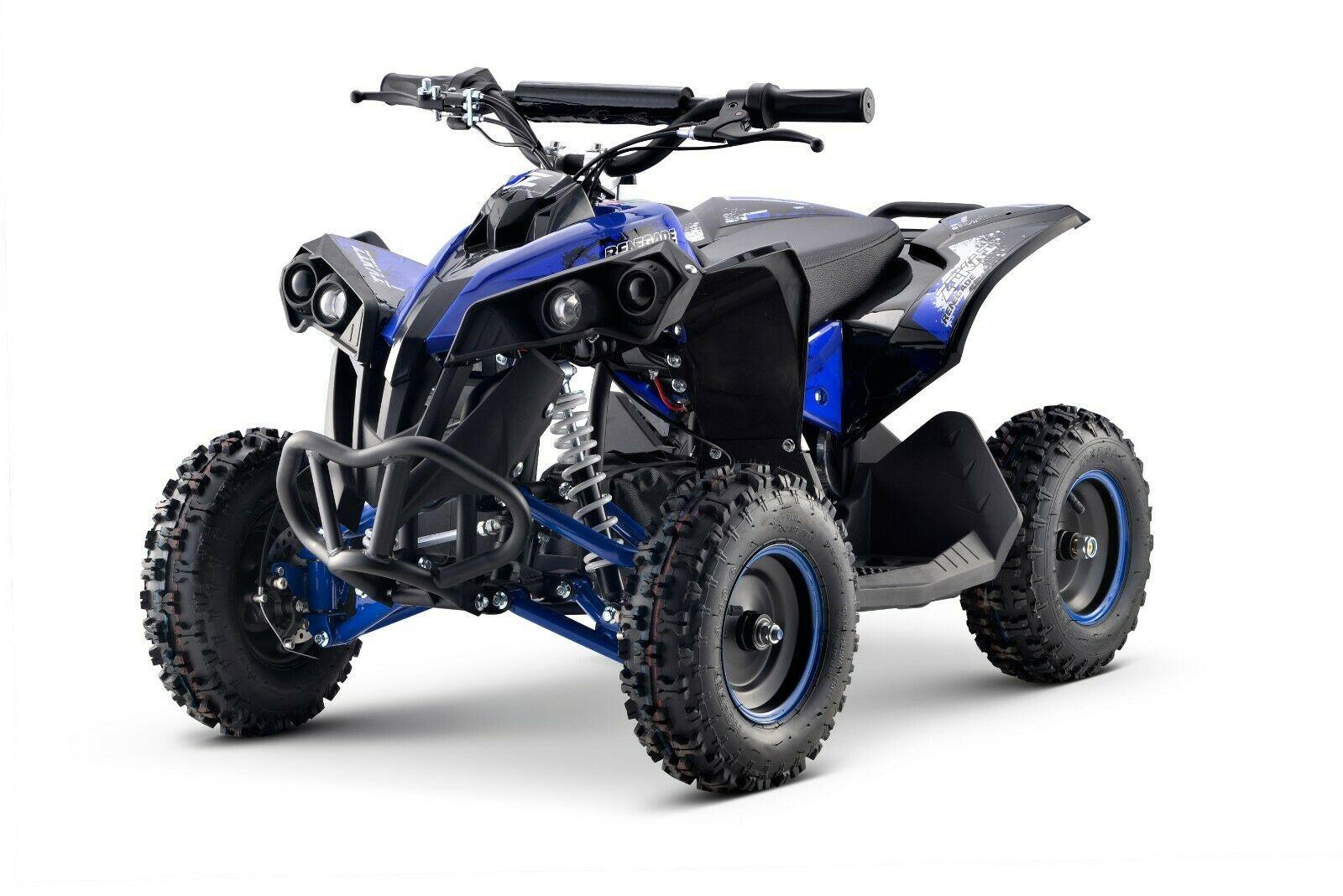 Elektro Quad 1200 Watt blau/schwarz
